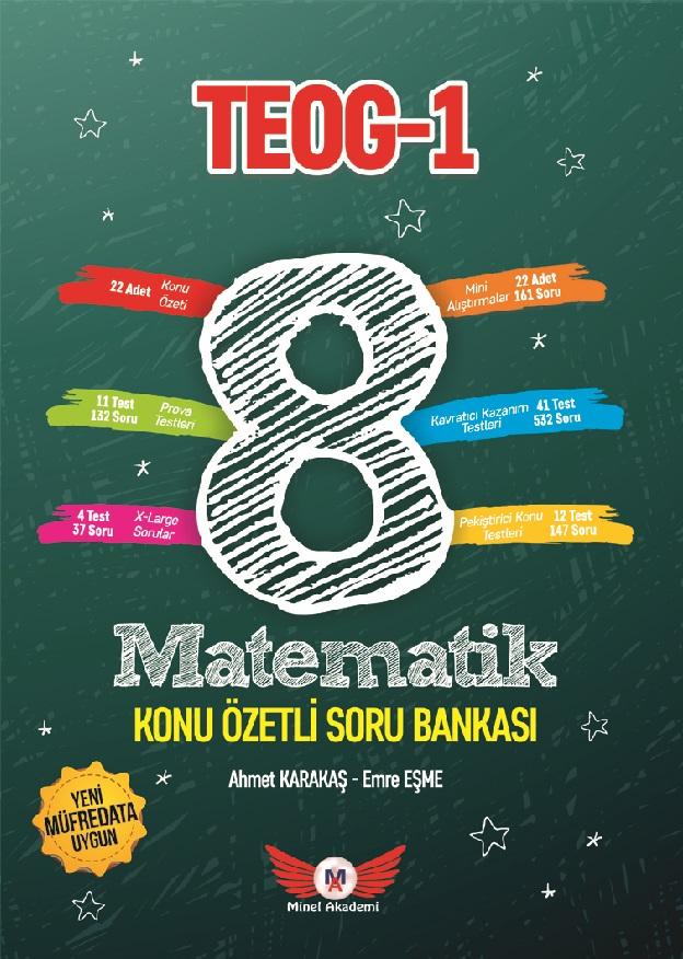 8. Sınıf Teog 1 - Matematik Konu Özetli Soru Bankası